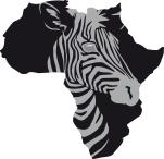 Illustration afrikanische Zebra